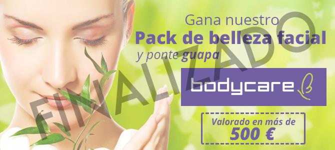 Sorteo pack tratamientos de belleza valorado en 500 €