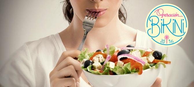 Operación bikini. Dieta semanal equilibrada