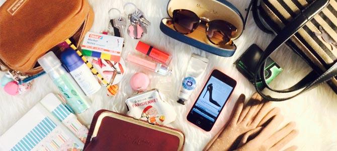 Incorpora estos objetos a tu bolso para un vida más saludable