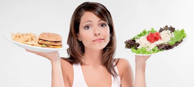 Test para descubrir si llevas una alimentación saludable