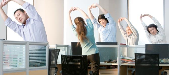 ¿Cómo luchar contra el sedentarismo cuándo trabajas en una oficina?