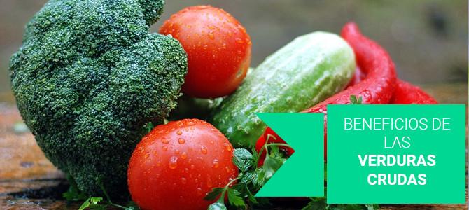Beneficios de consumir verduras y hortalizas crudas