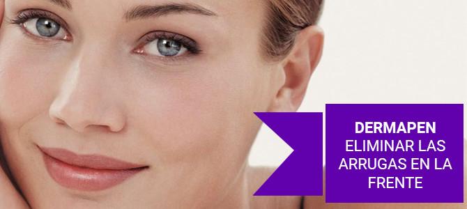 Tratamiento Dermapen para eliminar las arrugas en la frente