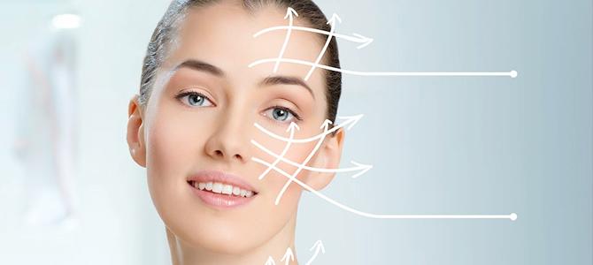 Corrección de la flacidez facial con hilos tensores PDO