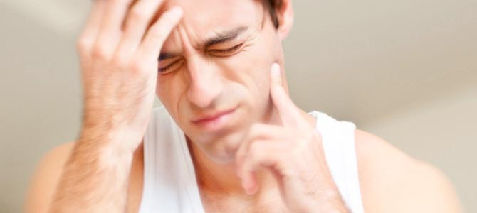 Es estrés y los problemas bucales