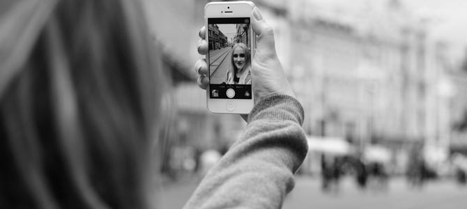 Las selfies pueden producir envejecimiento prematuro