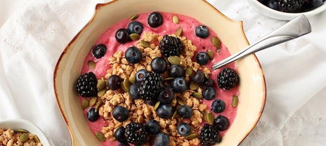 Smoothies bowl: un desayuno perfecto