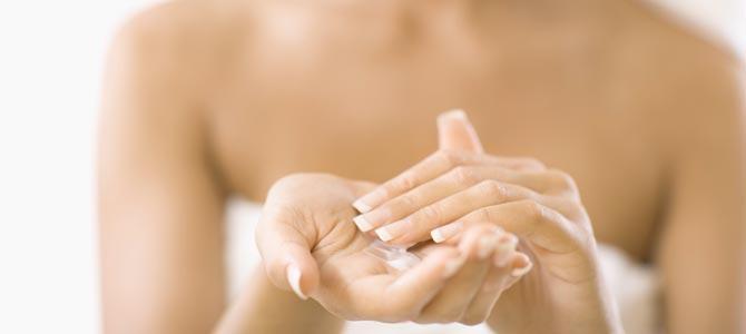 ¿Cómo aplicar la loción corporal según el tipo de piel?