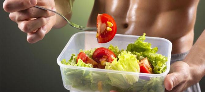 La alimentación antes y después de entrenar