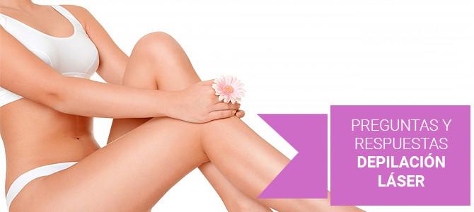 Preguntas y respuestas sobre la depilación láser