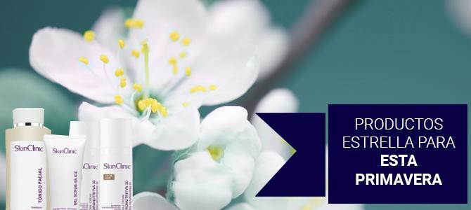 Productos cosméticos para esta primavera