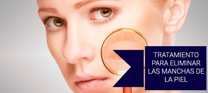Tratamiento para eliminar las manchas de la piel con plasma rico en proteínas